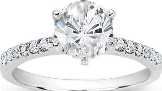 A man bought a box at a garage sale only to find it had a diamond ring inside.