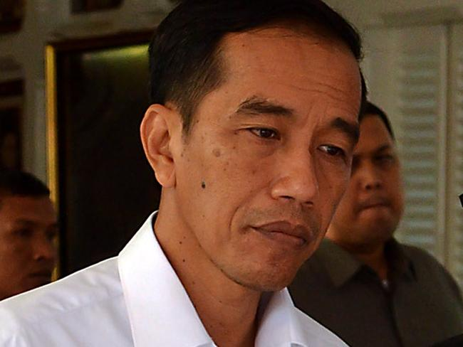 Would he reconsider? ... Even if an appeals court rules in favour of Andrew Chan and Myuran Sukumaran it is unclear if Indonesian President Joko Widodo would reconsider clemency. Picture: AFP