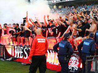 A-League Rd 18 - Melbourne v Western Sydney