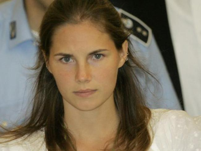 Amanda Knox was portrayed by the media as a 'man eater' and 'Foxy Knoxy' in the 2007 slaying of her British roommate, 21-year-old Meredith Kercher. Picture: AP