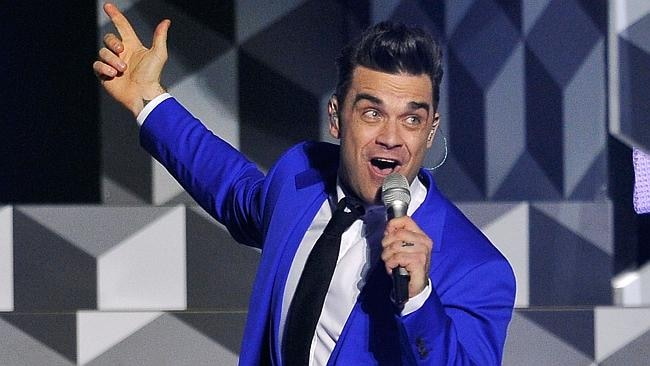 Robbie Williams will perform in Sydney at the Today Show. Picture: Matt Kent/Getty