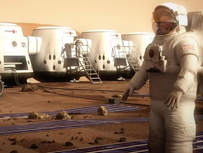 Risky business ... The Mars One reality television show wants to send 'colonists' on a one-way mission to Mars. Source: Mars One