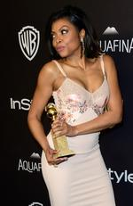 Actress Taraji P. Henson attends InStyle and Warner Bros. 73rd Annual Golden Globe Awards Post-Party at The Beverly Hilton Hotel on January 10, 2016 in Beverly Hills, California. (Photo by Frazer Harrison/Getty Images)