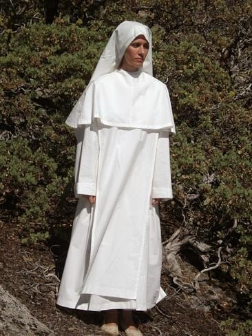 """Star, 25, dressed as a nun in photographs on the website she runs for her """"future husband"""", 79-year-old deranged..."""