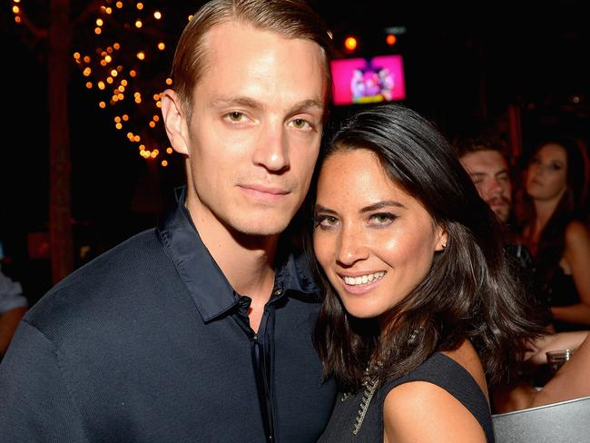 Former boyfriend ... Olivia Munn dated actor Joel Kinnaman for two years. Picture: Charley Gallay/Getty Images for Playboy