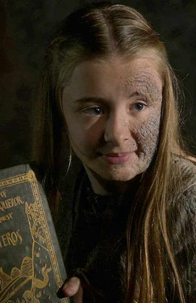 Shireen Baratheon, Stannis's daughter, has a close relationship with Davos.