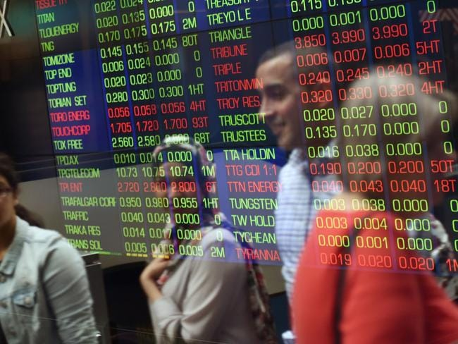 Playing the stockmarket could be good for your bank balance and for charity. Picture: AFP/William West