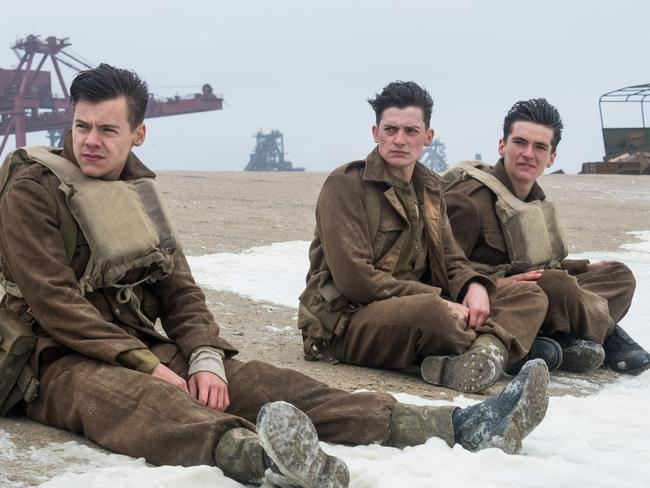 "Harry Styles says he was ""on edge"" in his first acting performance in Dunkirk. Picture: Warner Bros Pictures"