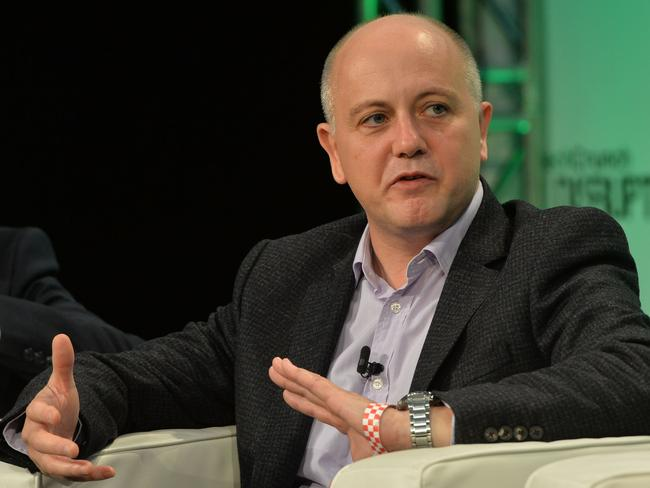 Tim Kelsey, the former National Director for NHS Patients and Information, has been put in charge of making the $1 billion My Health Record digital system work. Picture: Anthony Harvey / Getty Images for TechCrunch