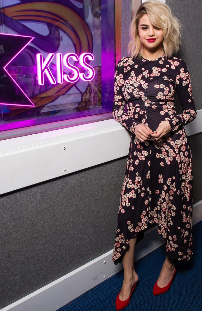 Floaty floral at Kiss FM. Picture: Getty Images