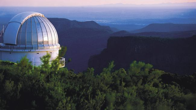 Siding Springs Observatory in Warrumbungle National Park, NSW, Australia's first Dark Sky Park.
