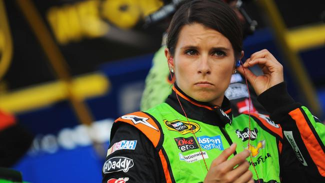 Danica Patrick is steadily moving up the grid in NASCAR.