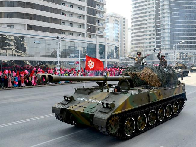 North Korean may strike again sooner rather than later. Picture: AFP/KCNA VIS KNS/STR