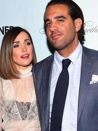 Happy ... Rose Byrne (L) and Bobby Cannavale are very much in love. Picture: Getty
