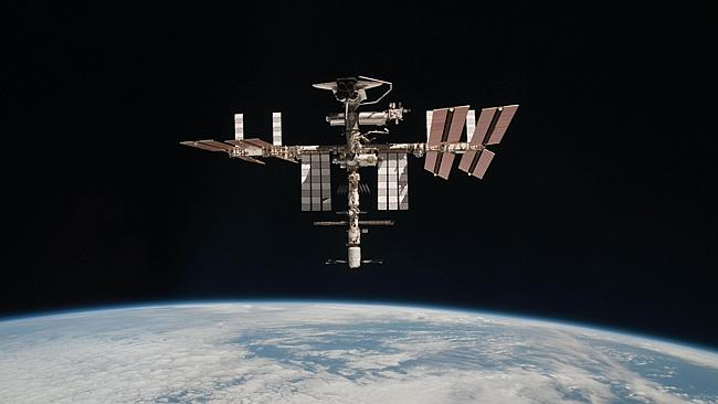 How far we have come ... the International Space Station. Picture: AFP / NASA