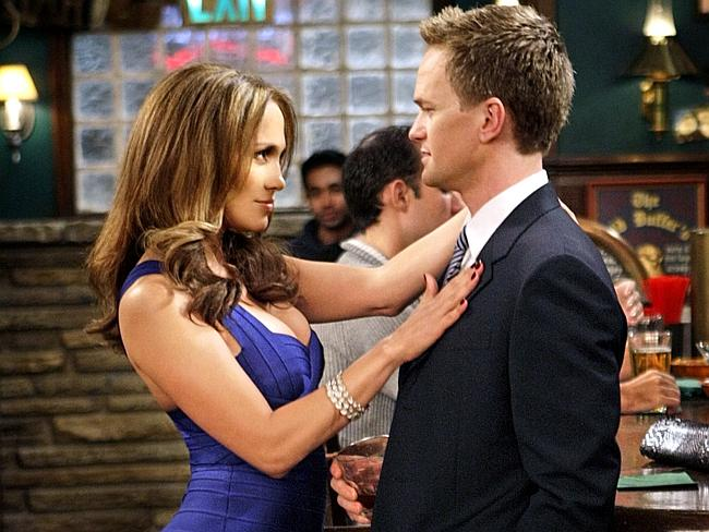 Jennifer Lopez starred in an episode and tried to lure Barney into falling head-over-heels for her.