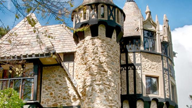 Play king of the castle in this holiday rental. Picture: Stayz.