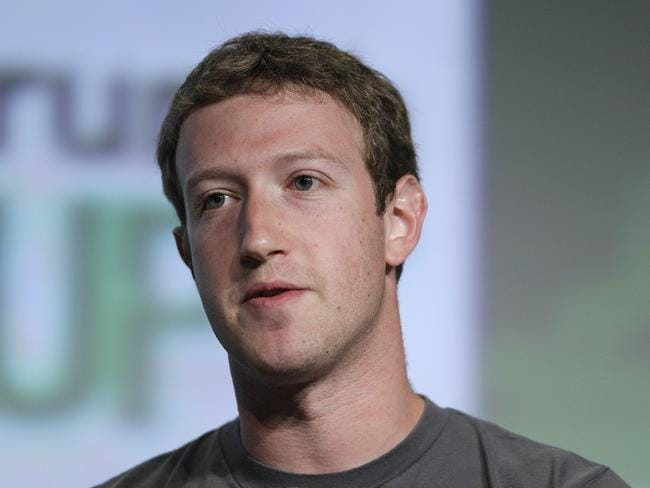 Mark Zuckerberg's fortune is tied to Facebook's value.