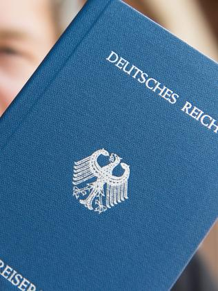 "A so-called ""German Reich passport"". Picture: Patrick Seeger"