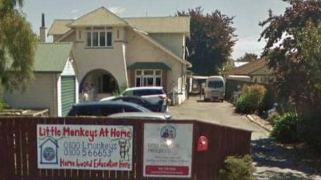 Little Monkey's preschool in Palmerston North. Picture: Google