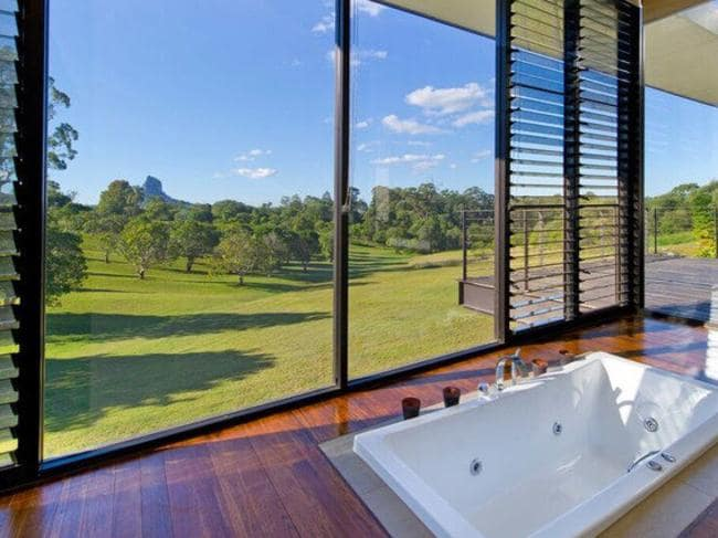 High on the range: a mountain getaway in Queensland. Picture: realestate.com.au
