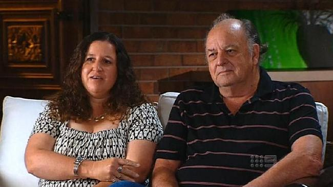 "Father and daughter John and Jennifer Deaves confessed on television their sex life was ""absolutely fantastic"". Picture: Channel 9"