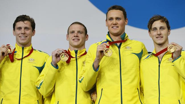 Australia's swimmers carried the can for their country at a difficult Games for the Aussie team.