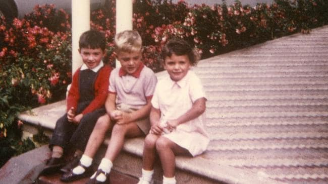 Jane Rosengrave, far right, aged 3. She was made a ward of the state when she was just six months old and suffered a lifetime of sexual abuse and domestic violence.