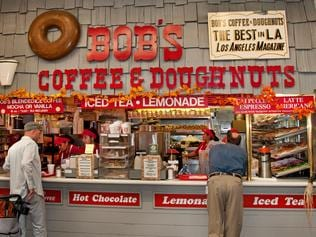 The Grove Farmers Market Bob's Coffee Dougnuts Los Angeles California United States