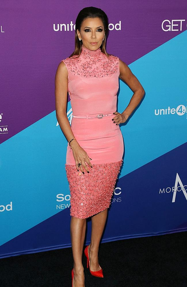 Eva Longoria's life is a healthy mix of business, pleasure and bragging. Picture: Getty