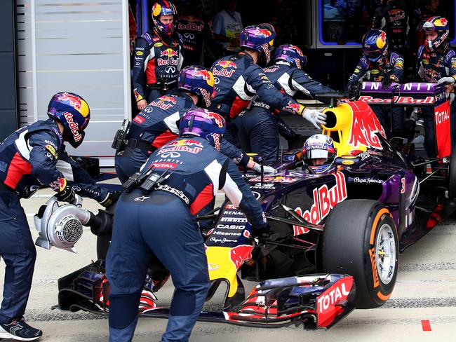 Red Bull's 2015 was disastrous.