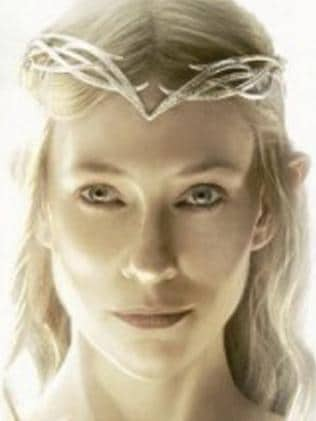 Galadriel played by Cate Blanchett. Picture: Supplied