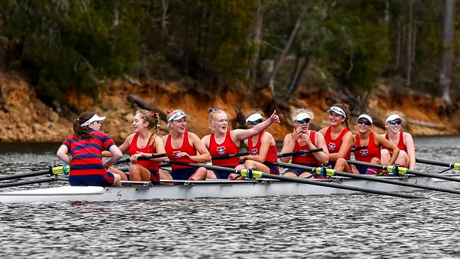 Hutchins and Friends defend Head of the River rowing titles