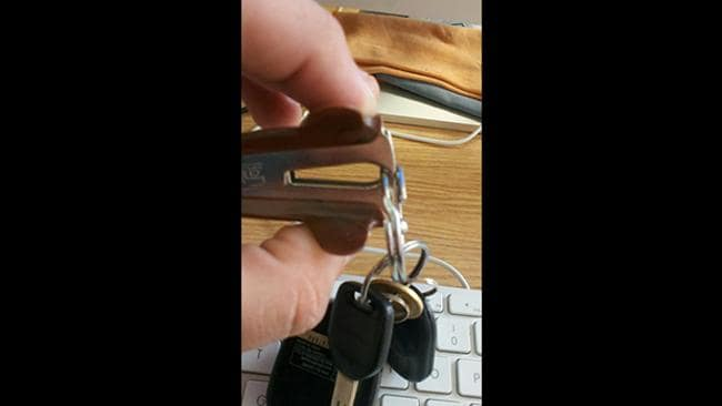 Never struggle with your keys again Picture: Reddit user RuncibleSpoon18