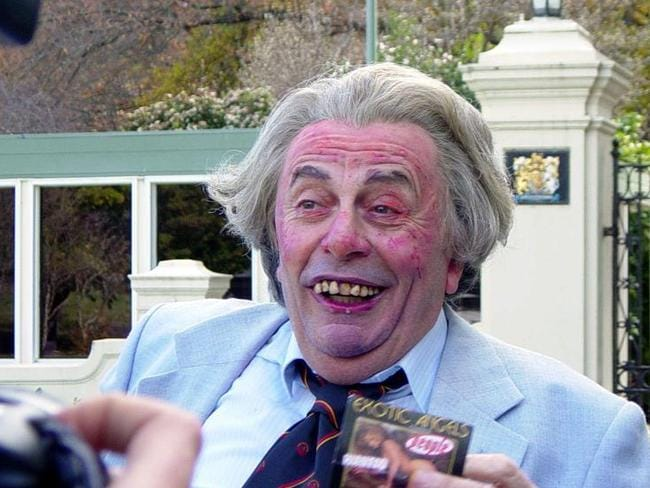 Another of Barry Humphries' characters, Sir Les Patterson.