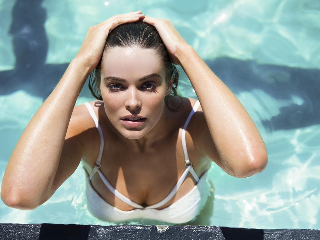 Australian plus-size model Robyn Lawley is pictured as she appears in a photoshoot for her signature swimwear brand. Picture: Supplied