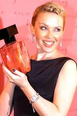08/11/2006. Singer Kylie Minogue at the launch of her new fragrance Darling, at a media party in Vaucluse, Sydney.