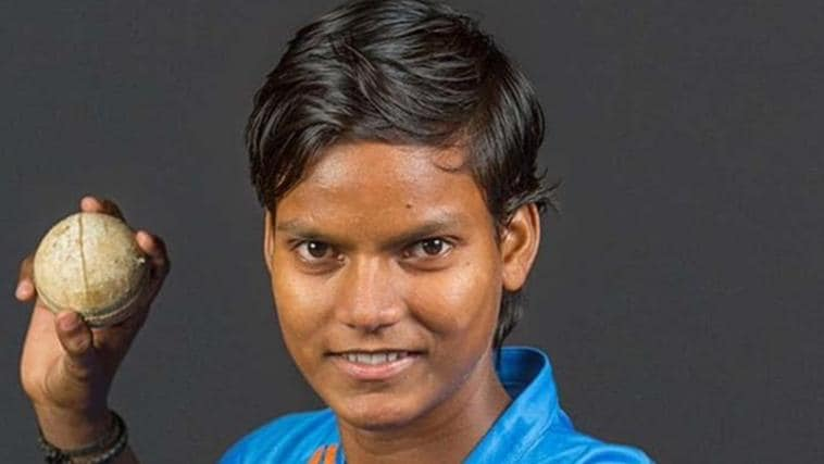 Indian cricketer Deepti Sharma created history when her and opening partner Poonam Raut had a 320 opening stand against Ireland. Pic: Supplied
