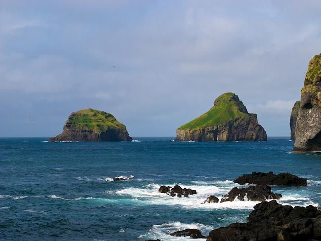 It's situated in the archipelago of Vestmannaeyjar.