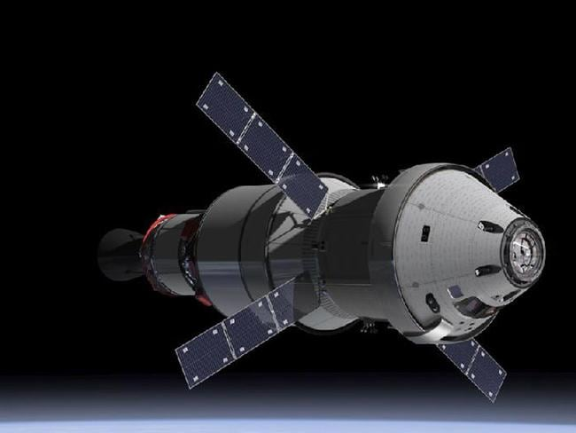An artist's rendering of what the Orion capsule could look like. AFP PHOTO/HANDOUT/NASA/ESA
