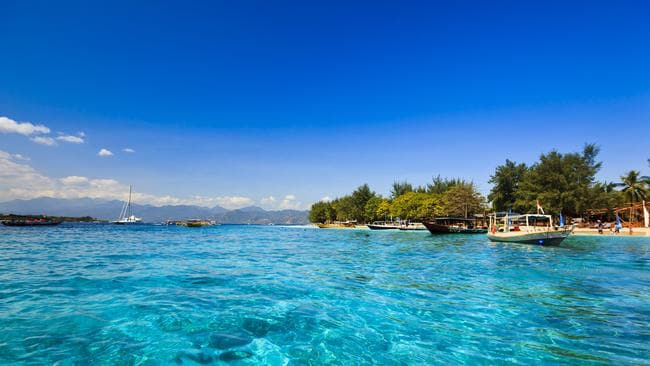 The Gili Islands, including Gili Trawangan, are believed to have a low crime rate, according to the BBC. Picture: Lonely Planet
