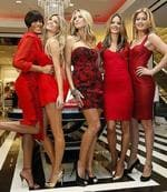<p>Victoria's Secret 'Angels' models (L-R) Selita Ebanks, Marisa Miller, Heidi Klum, Alessandra Ambrosio and Doutzen Kroes pose for photographers at the opening of the new Victoria's Secret flagship store in New York City, December 2, 2008. REUTERS</p>