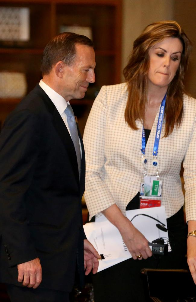 Peta Credlin was a powerful figure in Tony Abbot's government.