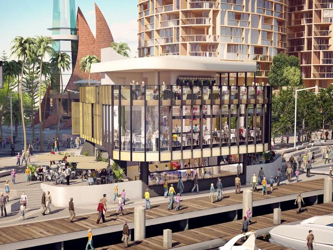 Three pounds bar and restaurant gets elizabeth quay s for Food bar perth