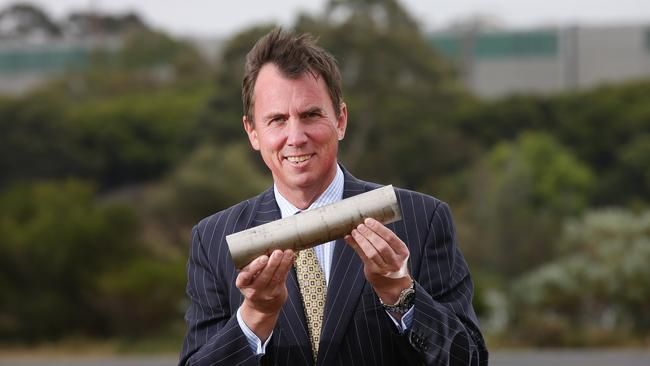 Tom Roe is calling for Point Henry to become the Australian epicentre for production of titanium. Picture: Peter Ristevski
