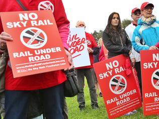 Skyrail Protest
