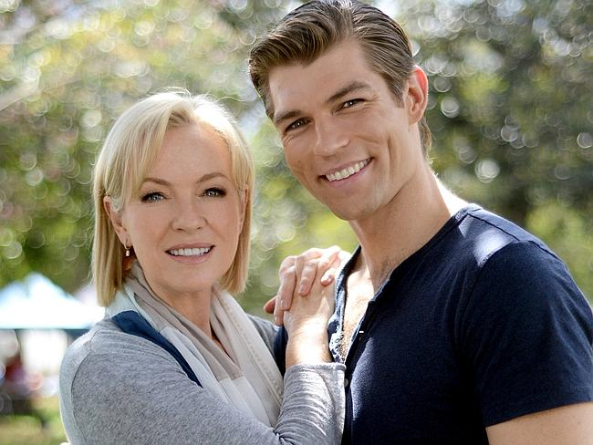 Rebecca Gibney stars alongside Spartacus actor Liam McIntyre in the Channel 7 crime thril