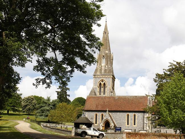 St Mark's Church in Englefield, where Pippa Middleton and James Matthew will marry. Picture: Getty