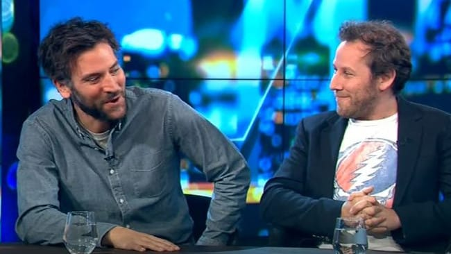 Josh Radnor and Ben Lee are performing in Australia this week. Picture: Network 10