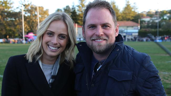 Fordham also manages Sylvia Jeffreys, who is high in the running to take over as Today co-host. Picture: Supplied